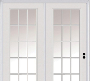 Patio doors exterior doors the home depot center hinged doors planetlyrics Image collections