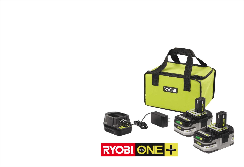 Ryobi Battery Combo Kit