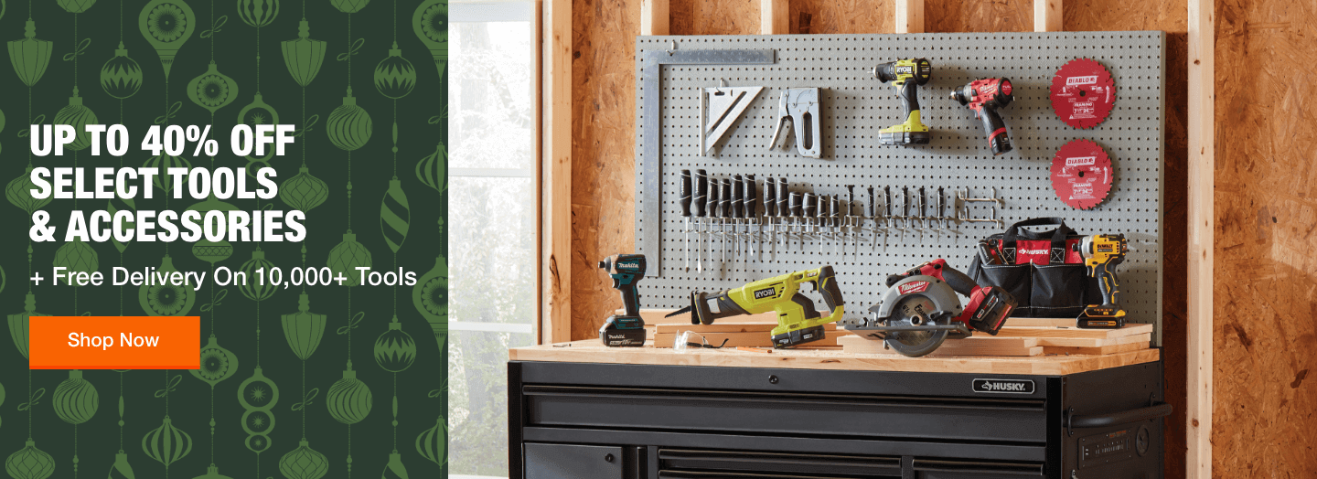 Up to 40% off Select Tools & Accessories  +Free Delivery on 10,000+ Tools