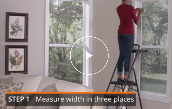 How to Measure for Outside-Mount Blinds