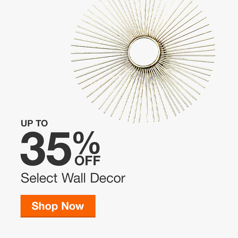 Up to 35% Off Select Wall Decor