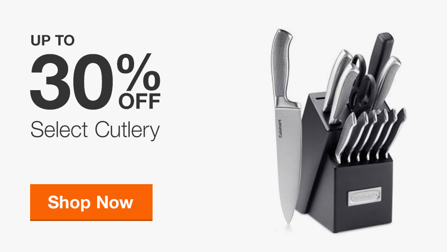 Up to 30% Off Select Cutlery
