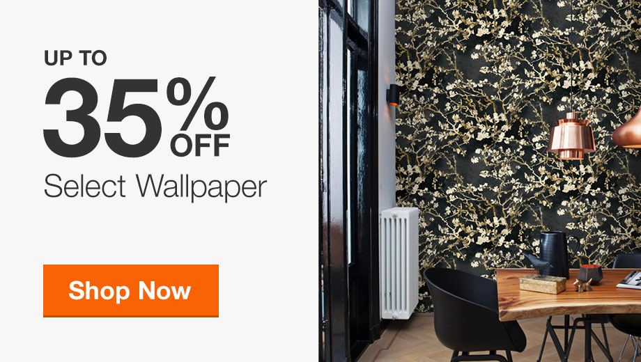 Up to 35% Off Select Wallpaper