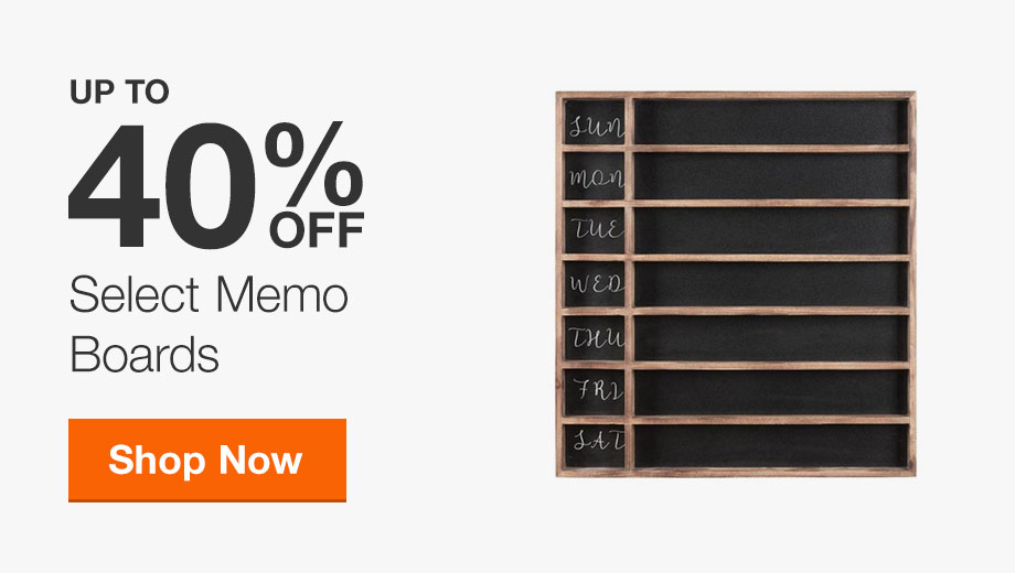 Up to 40% Off Memo Boards
