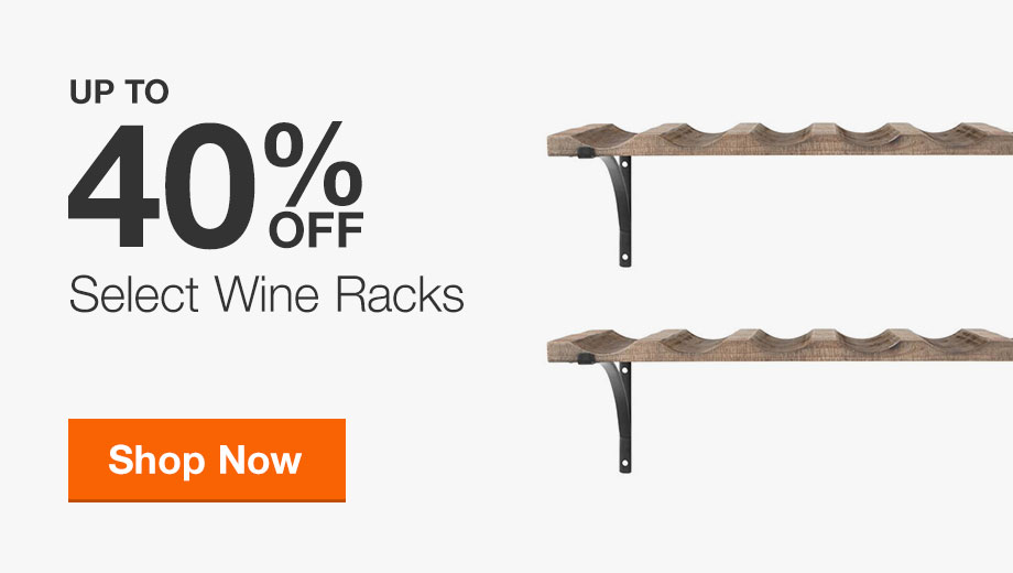Up to 40% Off Select Wine Racks