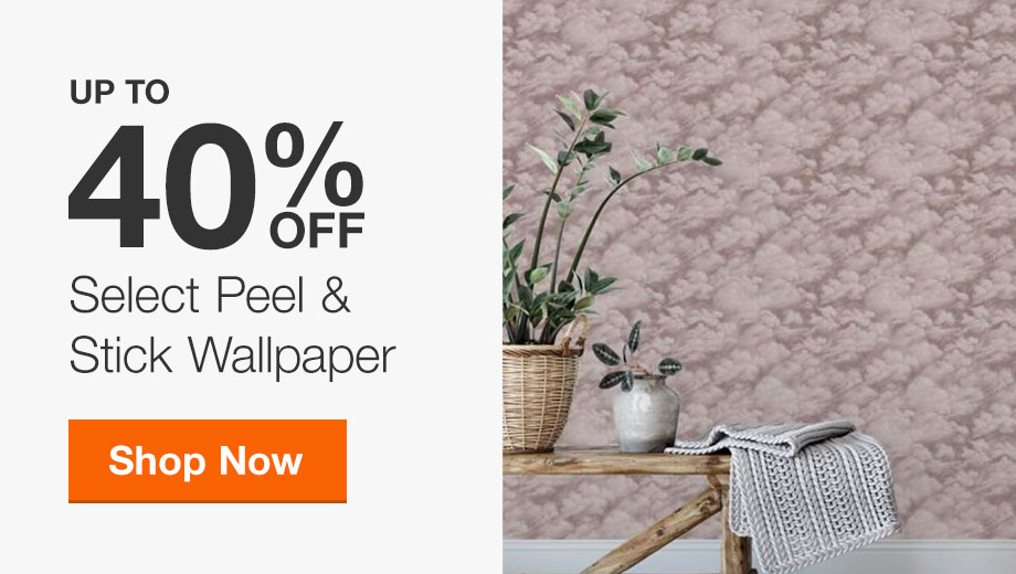 Up to 40% Off Select Peel & Stick Wallpaper