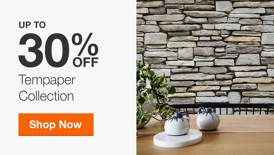 Up to 30% Off Tempaper Collection