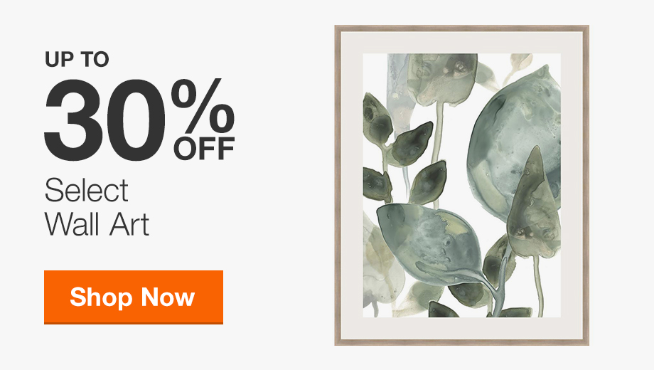 30% Off Select Wall Art