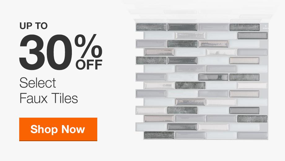 30% Off Select Faux Tiles