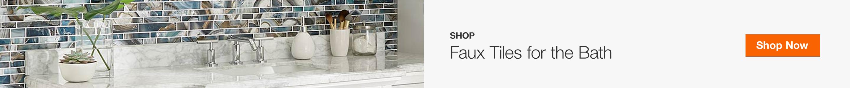 Shop Faux Tiles for the Bath