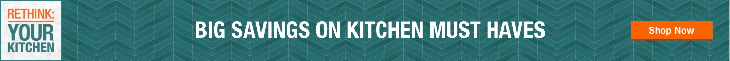 Big Savings on Kitchen must haves