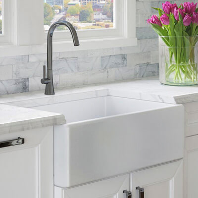 Astonishing Farmhouse Apron Kitchen Sinks Kitchen Sinks The Home Depot Beutiful Home Inspiration Xortanetmahrainfo