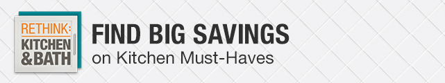 Find Big Savings on Kitchen Must-Haves