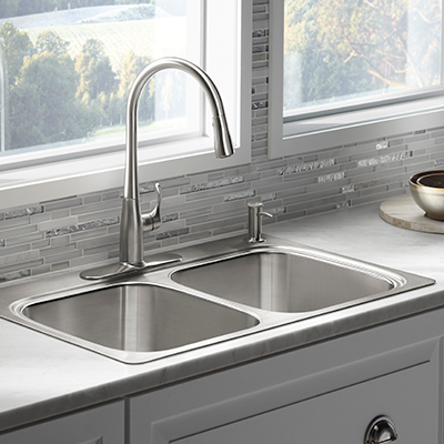 Stainless Steel Kitchen Sinks & Drop-in Kitchen Sinks - Kitchen Sinks - The Home Depot