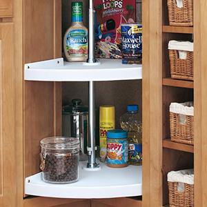 Pull Out Cabinet Organizers - Kitchen Storage & Organization ...