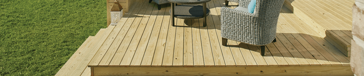 4 in  x 4 in  x 10 ft  #2 Ground Contact Cedar-Tone Pressure-Treated Timber