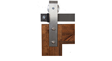 Nickel Barn Door Hardware
