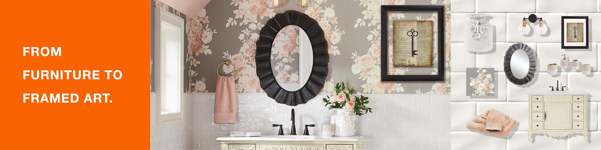 Classic Glamour Bathroom