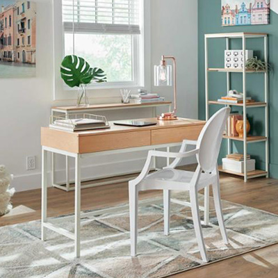 Colorful Comfort Home Office