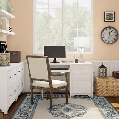 Sunny Stylish Home Office