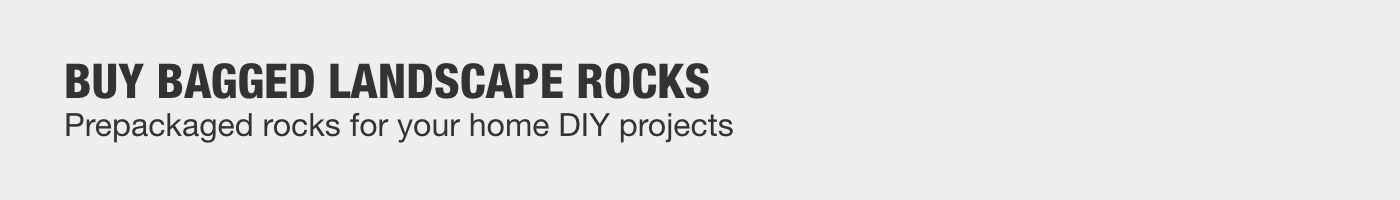 BUY BAGGED LANDSCAPE ROCKS Prepackaged rocks for your home DIY projects