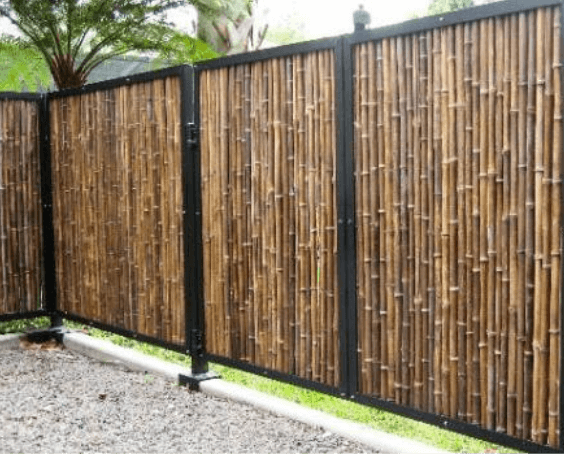 Garden Fence Panels Landscaping The Home Depot