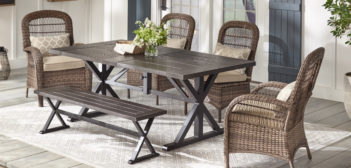 Custom Patio Furniture Outdoors The Home Depot