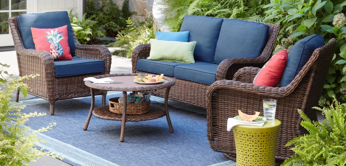 Custom - Patio Furniture - Outdoors - The Home Depot on at home depot grill parts, at home depot fans, at home depot rugs, at home depot garage doors, at home depot railings, at home depot plant pots, at home depot siding, home depot outside furniture, at home depot swimming pools, at home depot awnings, at home depot fireplace doors, at home depot flooring, at home depot windows, at home depot plant stands, at home depot gazebos, at home depot outdoor swings, at home depot garden arbors, at home depot grass seed, at home depot water fountains,