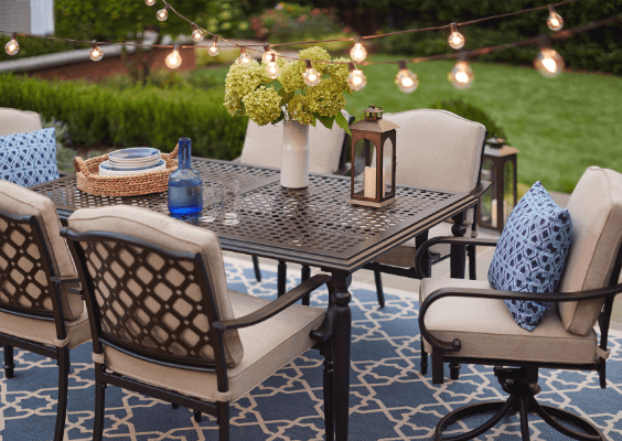 Patio Dining Furniture Patio Furniture The Home Depot