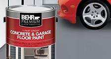 Floor Paint Garage : Garage floor paint exterior paint the home depot