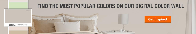 BEHR - Paint Colors - Paint - The Home Depot