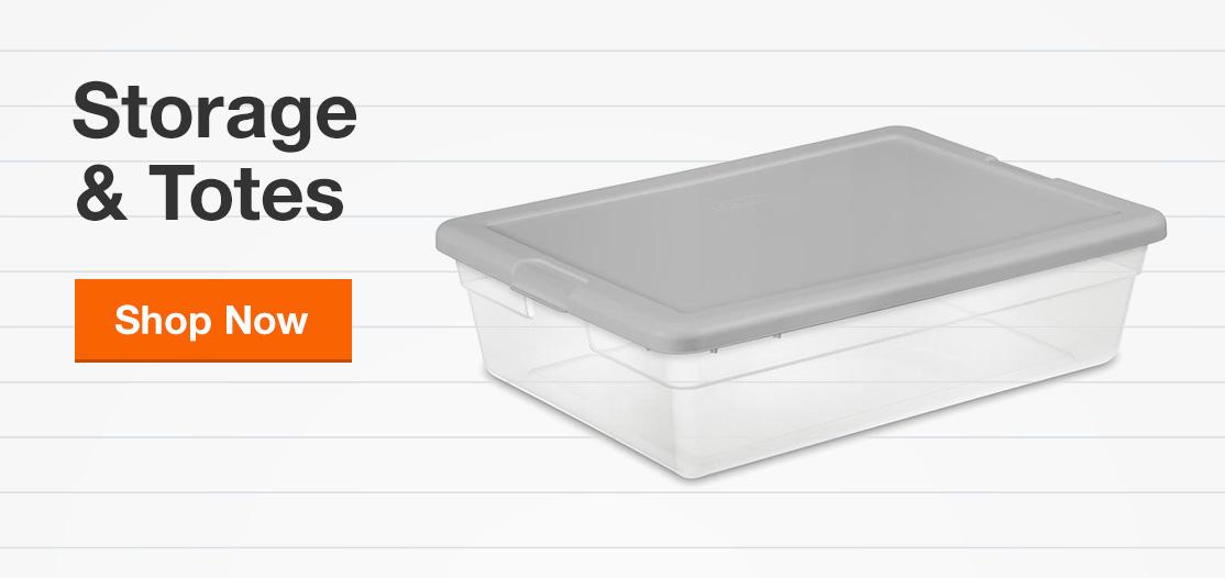 Plastic Storage & Totes