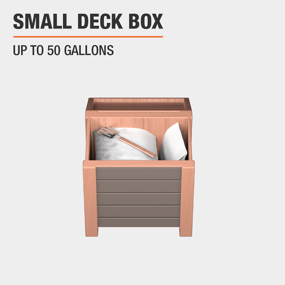 Deck Boxes Outdoor Storage The Home Depot