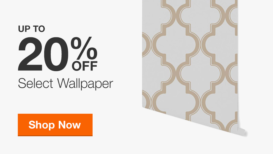 Up to 20% off Select Wallpaper