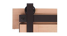 Bronze Barn Door Hardware