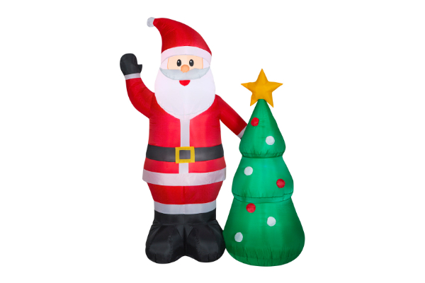 Inflatable Christmas Decorations.4 Ft Pre Lit Inflatable Nlcv Rv Scene With Logo Airblown Scene Wb