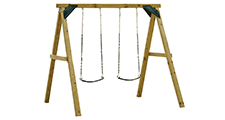 Zip Line Fun Swings Playground Sets Equipment The Home Depot