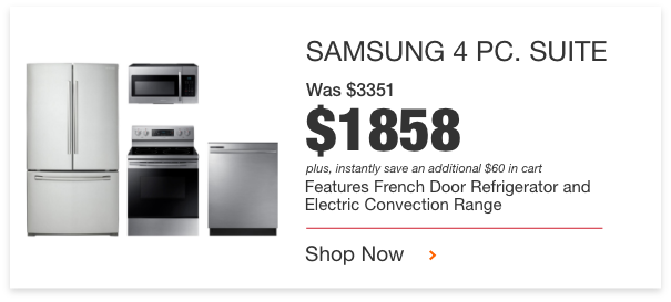Black Friday Appliance Savings The Home Depot