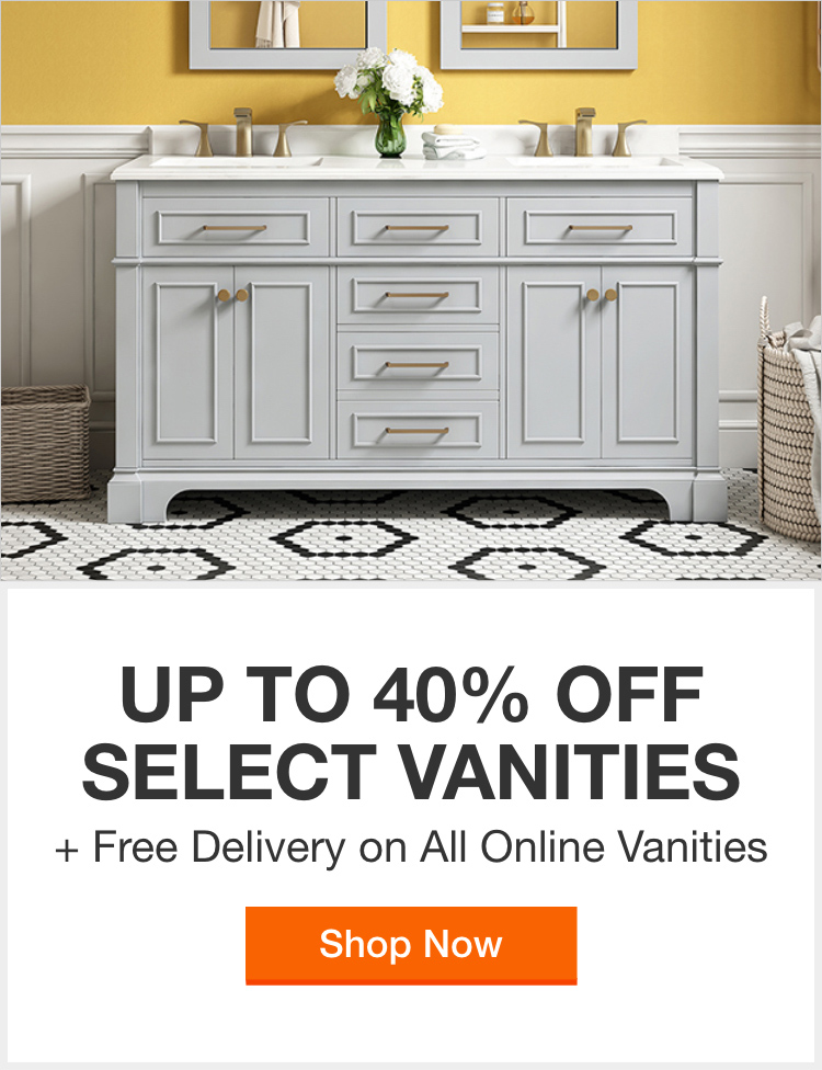 Bathroom Vanities Bath The Home Depot