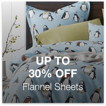Up to 30% Off Flannel Sheets