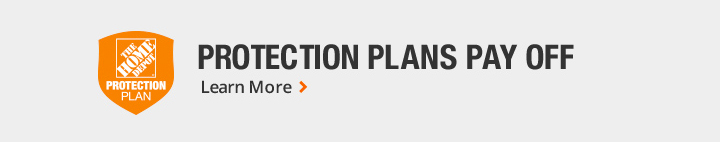 The Home Depot Protection Plan Protects Your Investment