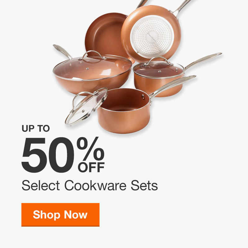 Up to 50% off Select Cookware