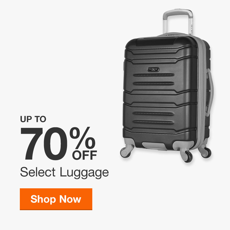 Up to 70% Off Select Luggage