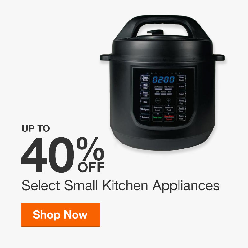 Up to 40% off Select Small Appliances