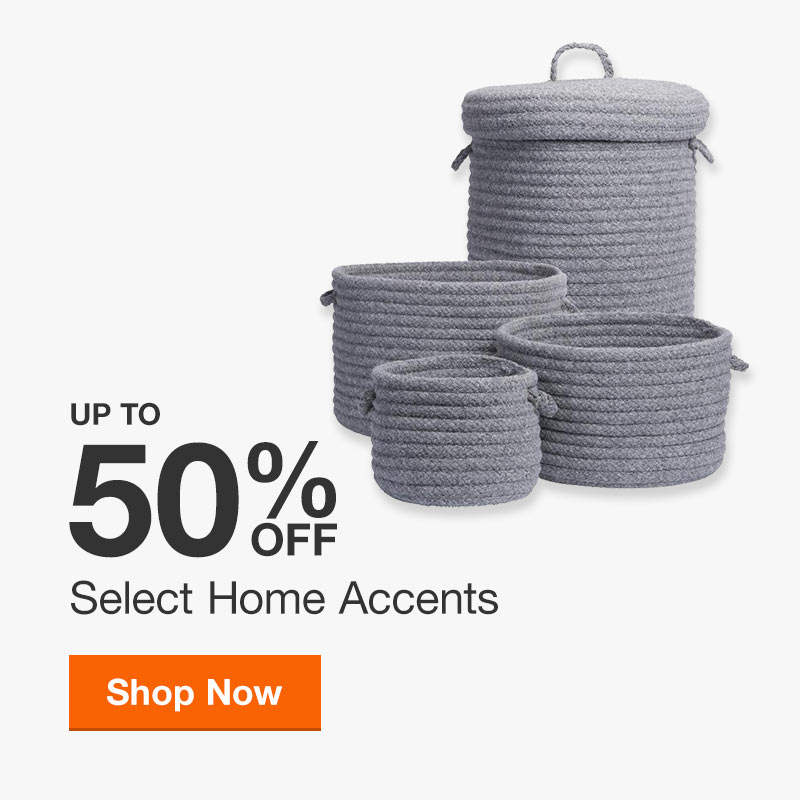 Up to 50% off Select Hone Accents