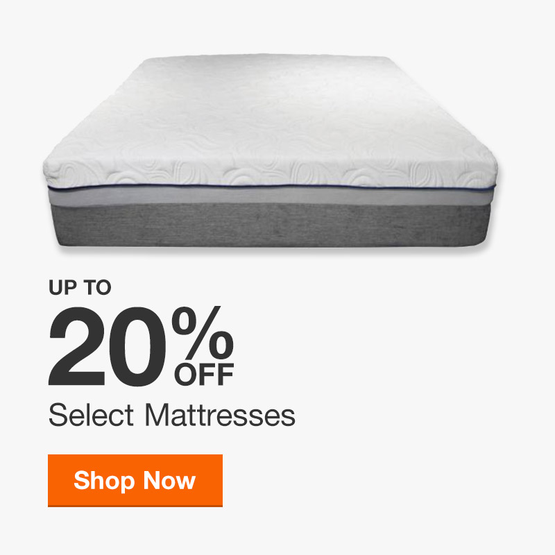 Up to 20% off Select Mattresses
