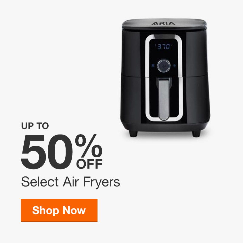 Up to 50% off Select Air Fryers