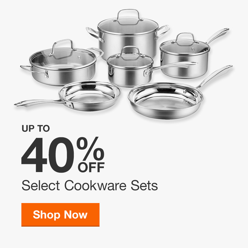 Up to 40% off Select Cookware Sets