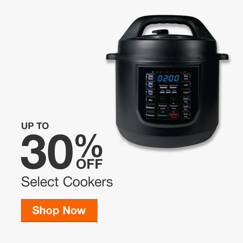 Up to 30% off Select Cookers