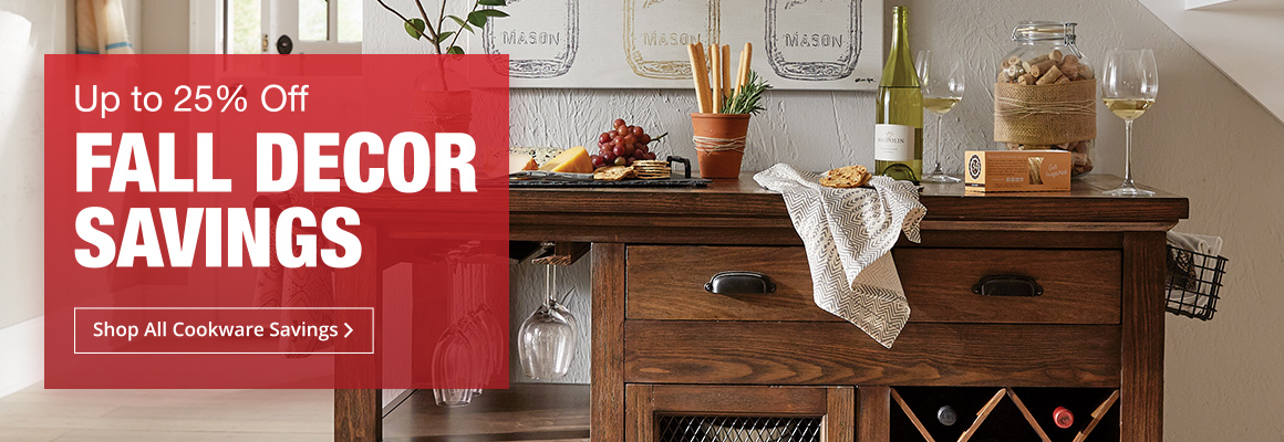 Up To 25% Off Fall Decor Savings